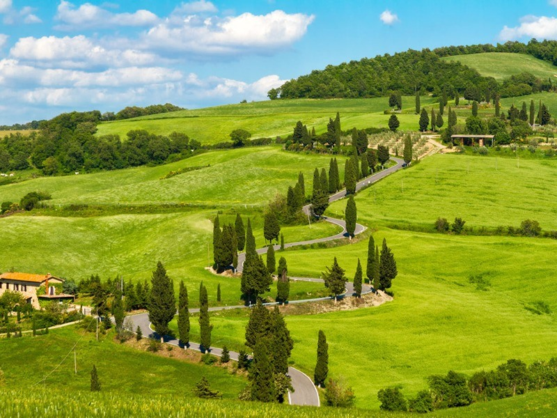 Week end in Toscana
