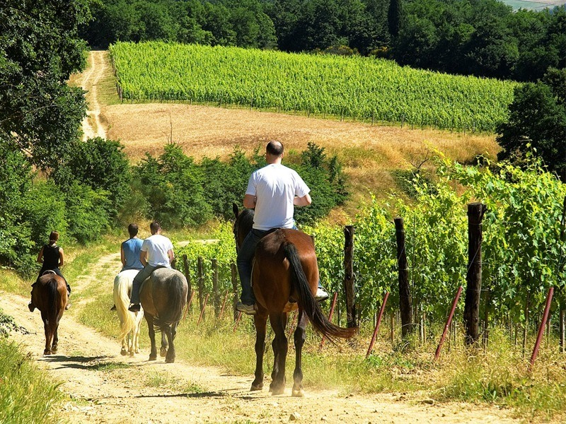 Week end a Cavallo in Toscana